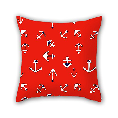 PILLO Sea Pillowcover ,best For Indoor,girls,outdoor,bar Seat,bench,christmas 18 X 18 Inches / 45 By 45 Cm(two Sides)