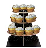 Creative Converting Presentation Station Tiered Snack Server, Birthday Candles