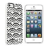 Belkin iPhone5 Case, Apple Matt Aqua iPhone 5S Mobile Shield Dots Case Ultra Slim Belkin Cover