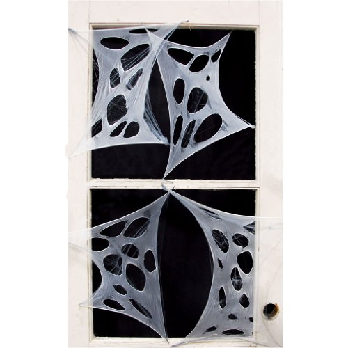 Stretchy Spiderweb - 4pcs Door Covers (4 per package)