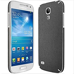 Skinomi® TechSkin - Samsung Galaxy S4 Mini Screen Protector + Brushed Steel Full Body Skin / Front & Back Premium HD Clear Film / Ultra Invisible and Anti Bubble Shield with Free Lifetime Replacement