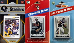 NFL Pittsburgh Steelers Licensed 2011 Score Team Set with Twelve Card 2011 Prestige... by C&I Collectables