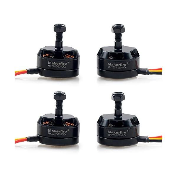 Makerfire-4pcs-MK2205-2300KV-Brushless-Motor-4CW-for-QAV250-Race-Quadcopter