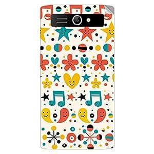Garmor Designer Mobile Skin Sticker For Panasonic T9 - Mobile Sticker