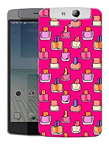 "Humor Gang Nail Paint Girl Life Printed Designer Mobile Back Cover For ""Oppo N1"" (3D, Matte, Premium Quality Snap On Case)"