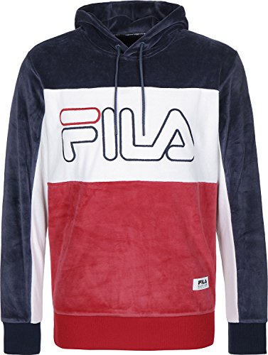 fila-baggio-pop-over-velour-logo-hoodie-navy-white-red-m-38-40in