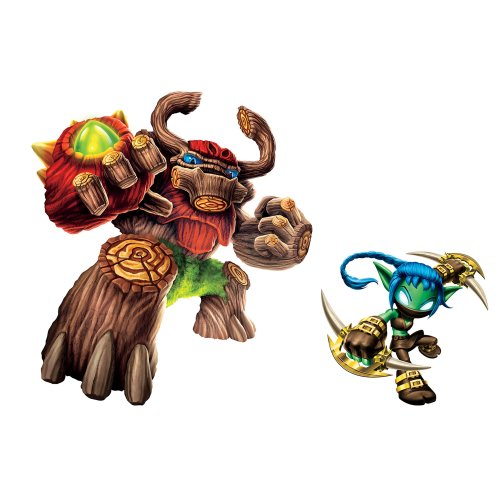 Roommates Rmk2286Gm  Skylanders Giants Tree Rex And Stealth Elf Peel And Stick Giant Wall Decals - 1