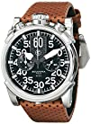 CT Scuderia Mens CS10100 Analog Display Swiss Quartz Brown Watch