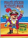 Pirate Mini Sticker Activity Book's 6pk