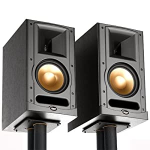 klipsch bookshelf loudspeakers system rb 61 pair black cell phones accessories. Black Bedroom Furniture Sets. Home Design Ideas