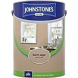 Johnstones No Ordinary Paint Water Based Interior Vinyl Silk Emulsion Burnt Sugar 5 Litre