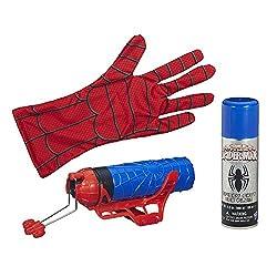 Marvel Ultimate Spider Man Web Warriors Spider Man Color Shock Slinger (Classic)