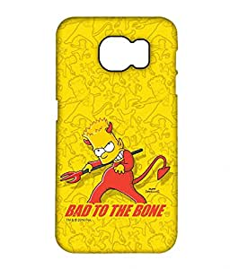 Simpsons - Bad To The Bone - Case For Samsung S7 Edge