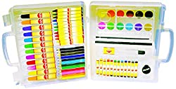 Sky Kidz Colour Box, Multi Color (67 Pieces)