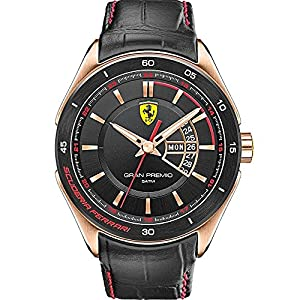 Scuderia Ferrari Watches Men's Gran Premio Rose Gold Watch