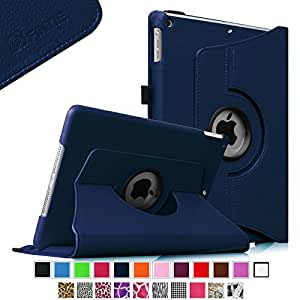 Fintie iPad mini 1/2/3 Case - 360 Degree Rotating Stand Case Cover with Auto Sleep / Wake Feature for Apple iPad mini 1 / iPad mini 2 / iPad mini 3, Navy