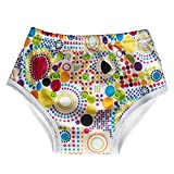 Waterproof Training Underwear Pants for Toddler / Bamboo Inner, Dots