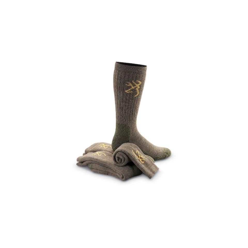 Browning Merino Wool Blend Socks 3 Pairs