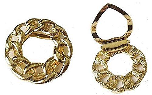 Da donna, oro vittoriano antico, Vintage-Sciarpa da donna a maglia Scarve accessori