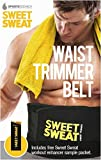 Sweet Sweat Premium Waist Trimmer, 1-size-fits-all. Includes Free Sample of Sweet Sweat!