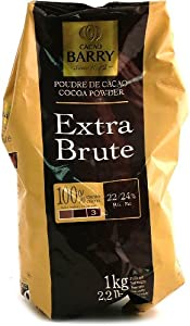 Cacao Barry Cocoa Powder - 100% Cocoa - Extra Brute - 2.2 lbs