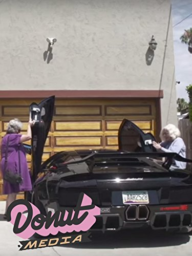 Two Grandmas pull out in a Lamborghini on Amazon Prime Video UK