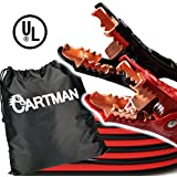 Cartman Booster Cable 4 Gauge x 20Ft in Carry Bag UL Listed (4AWG x 20Ft)