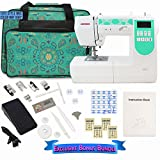 Janome 6100 Computerized Sewing Machine with Exclusive Bundle