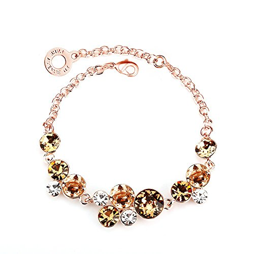 park-avenue-armband-nugget-multicolor-rotgold-made-with-crystals-from-swarovski
