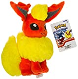 "Flareon ~8.25"" Mini-Plush: Pokemon Evolution of Eevee Series"