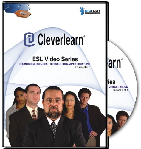 Cleverlearn ESL Video Series: Learn Business English Through Dramatized Situations Ep 3 of 3