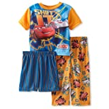 Disney Cars Shift It Orange 3 Piece Pajamas Set 2T-4T