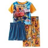 Disney Cars Shift It Orange 3 Piece Pajamas Set 2T-4T