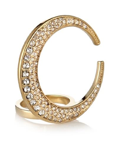 CC Skye Crescent Moon Ring As You See