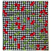 Microwave Potato Bag - Red Cherry