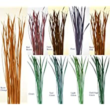 Green Floral Crafts Tall Grass Stems - 48