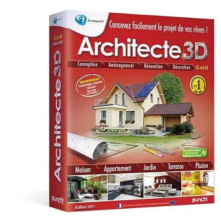 Architecte 3D - édition gold 2011