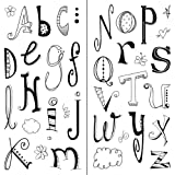 Inkadinkado Doodle Alphabet Clear Stamps