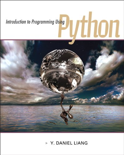 Introduction to Programming Using Python 0132747189 pdf