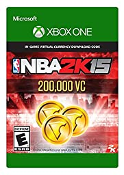 NBA 2K15 200,000 Virtual Currency - (Previous Game)- Xbox One Digital Code