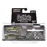 "GREENLIGHT 1:64SCALE HITCH&TOW HOLLYWOOD SERIES1 ""GAS MONKEY GARAGE"" ""'68 SHELBY GT500KR / '15 FORD F-150 / ENCLOSED CAR HAULER"" グリーンライト 1:64スケール ヒッチ&トウ ハリウッドシリーズ1 「ガスモンキー ガレージ」「1968 シェルビー GT500KR / 2015 フォード F-150 / エンクローズドカー ハウラー」 [並行輸入品]"