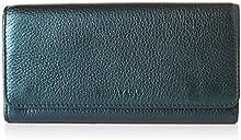 Comprar Bimba y Lola - cartera con solapa para mujer, color azul metalico