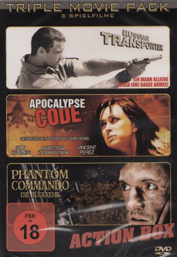 Russin Action Box - Triple Movie Pack