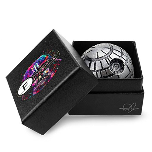 Original StarGrinder - Death Star Weed Grinder - Herb Grinder for Spices, Tobacco & Kush - 1.9 Inch 3 Piece Crusher - Pollen Catcher - Star Wars Fan Gift - Fine Grind Spice Mill - Weed Accessories (Vaporizer Bowl Attachment compare prices)