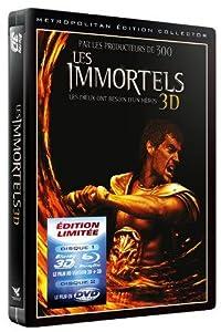 Les Immortels 3D [Blu-ray] [Combo Blu-ray 3D + 2D + DVD - Édition Collector boîtier SteelBook]