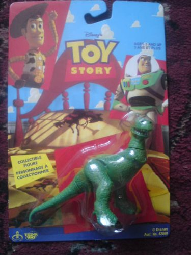 "1995 Toy Story 3.25"" Collectible Rex Figure - 1"