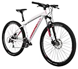 Diamondback Bicycles 2015 Overdrive Hard Tail Complete Mountain Bike, 20-Inch/Large, White