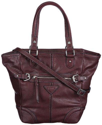 JOOP! Miss Carter Shopper in pelle 4030001201, Borsa a spalla donna 36x33x11 cm (L x A x P), Rosso (Rot (burgundy 306)), 36x33x11 cm (L x A x P)
