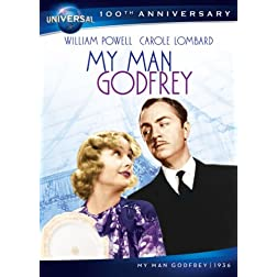 My Man Godfrey DVD (Universal's 100th Anniversary)