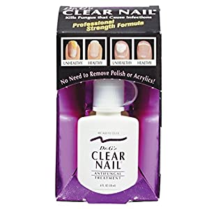 Dr. G's Clear Nail Antifungal Treatment, 0.6 Ounce Bottle